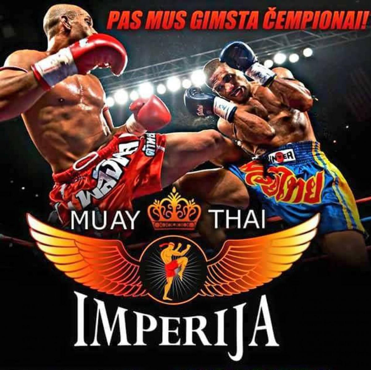 Muay Thai treniruotės