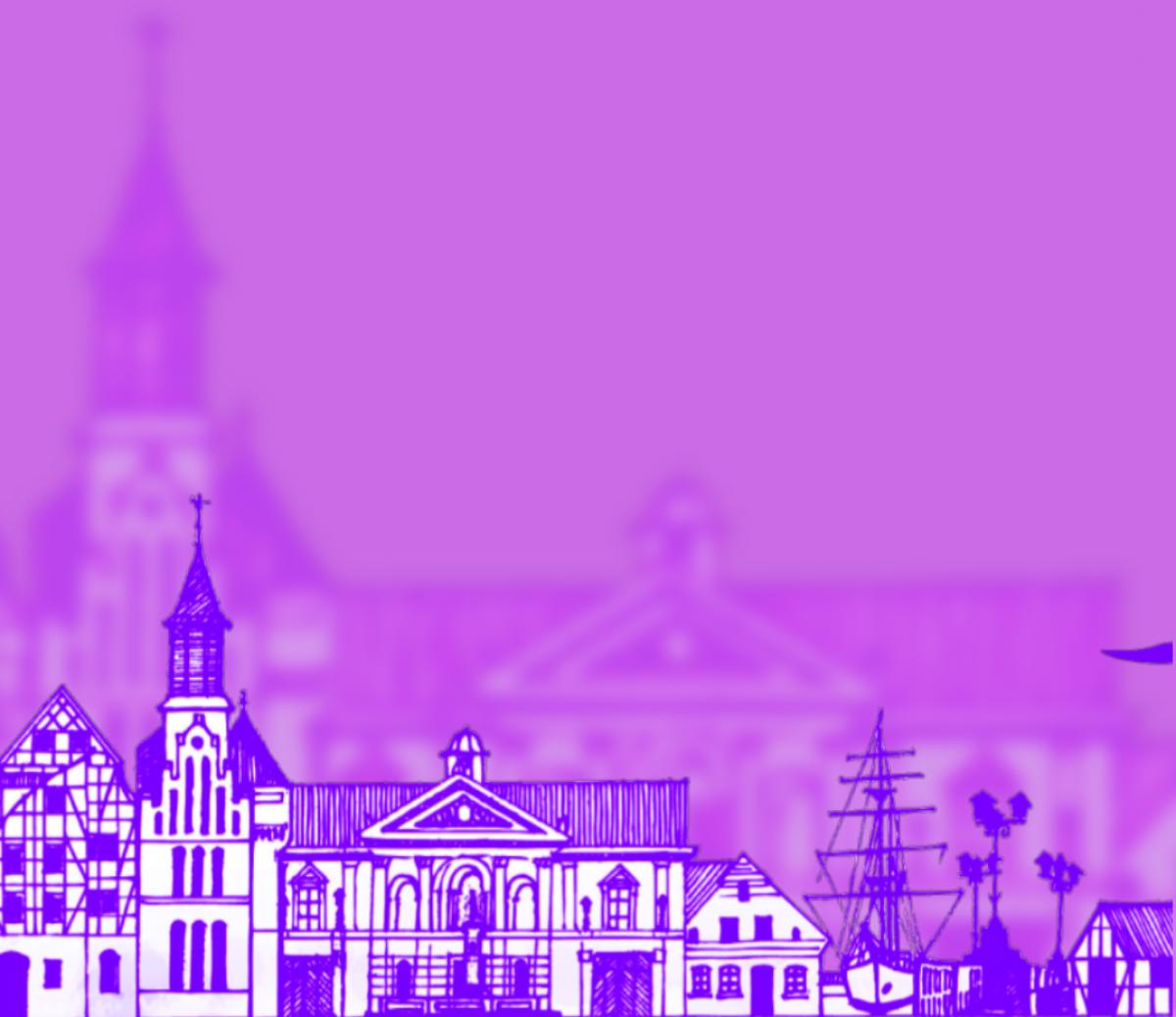 "Renginio nuotrauka, Teatralziuota ekskurskursija ""Vienos Klaipėdos gatvės istorija. Markų gatvės ekskursija"""
