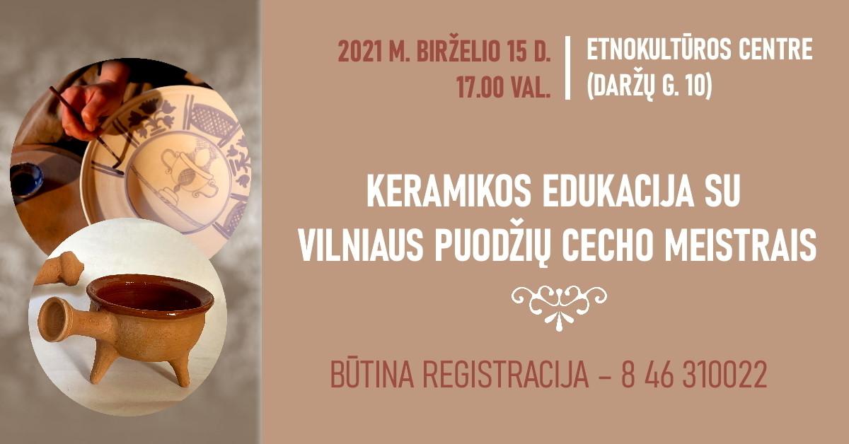 Renginio nuotrauka, Meno kieme – Klaipėdos keramikos paroda ir praktiniai mokymai