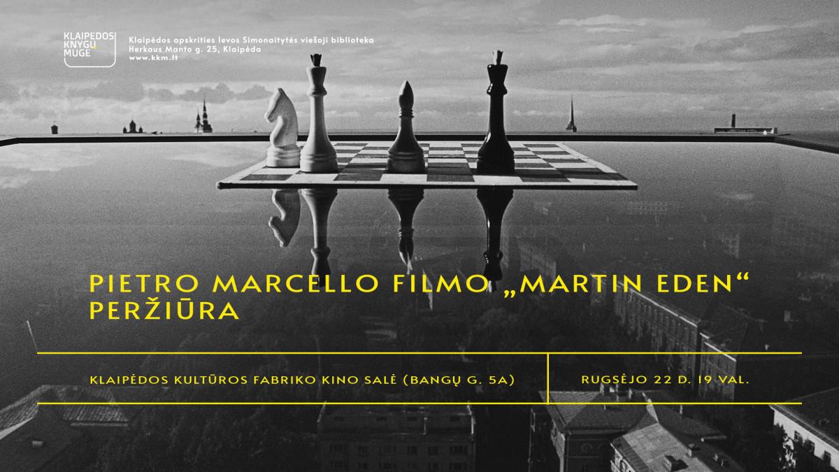 """Renginio nuotrauka, Pietro Marcello filmo """"Martinas Idenas"""" peržiūra"""