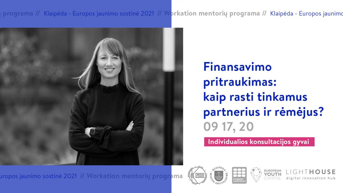 Renginio nuotrauka, Finansavimo pritraukimas: kaip rasti tinkamus partnerius ir rėmėjus?