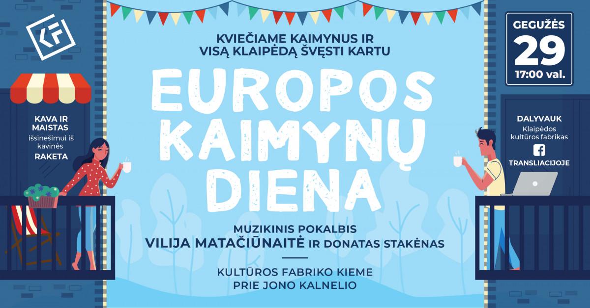 Europos kaimynų diena KUFA kieme