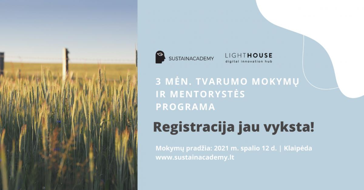 Renginio nuotrauka, 3 mėn. tvarumo mokymų ir mentorystės programa