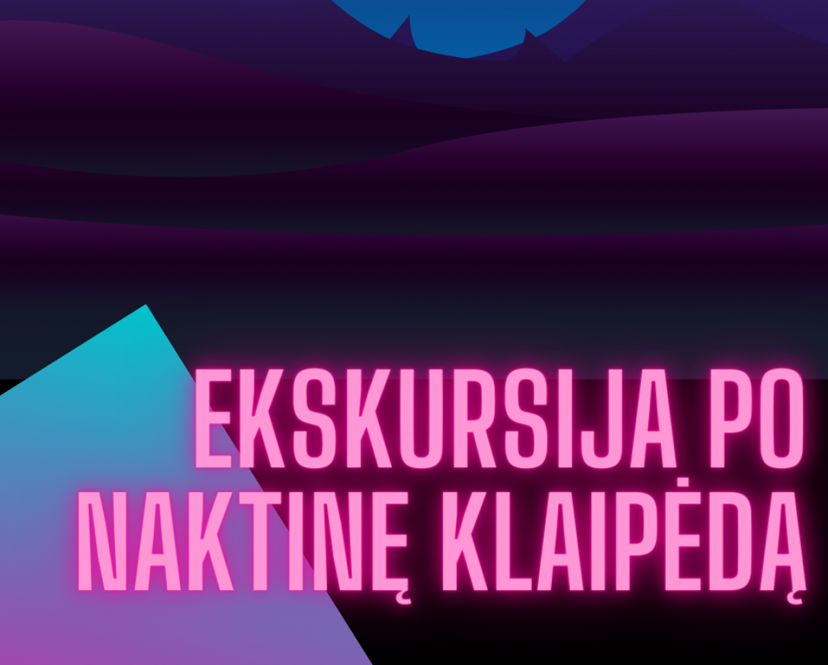 Renginio nuotrauka, Naktinės Klaipėdos ekskursija