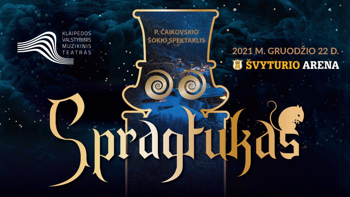 """Renginio nuotrauka, Piotro Čaikovskio šokio spektaklis """"Spragtukas"""""""