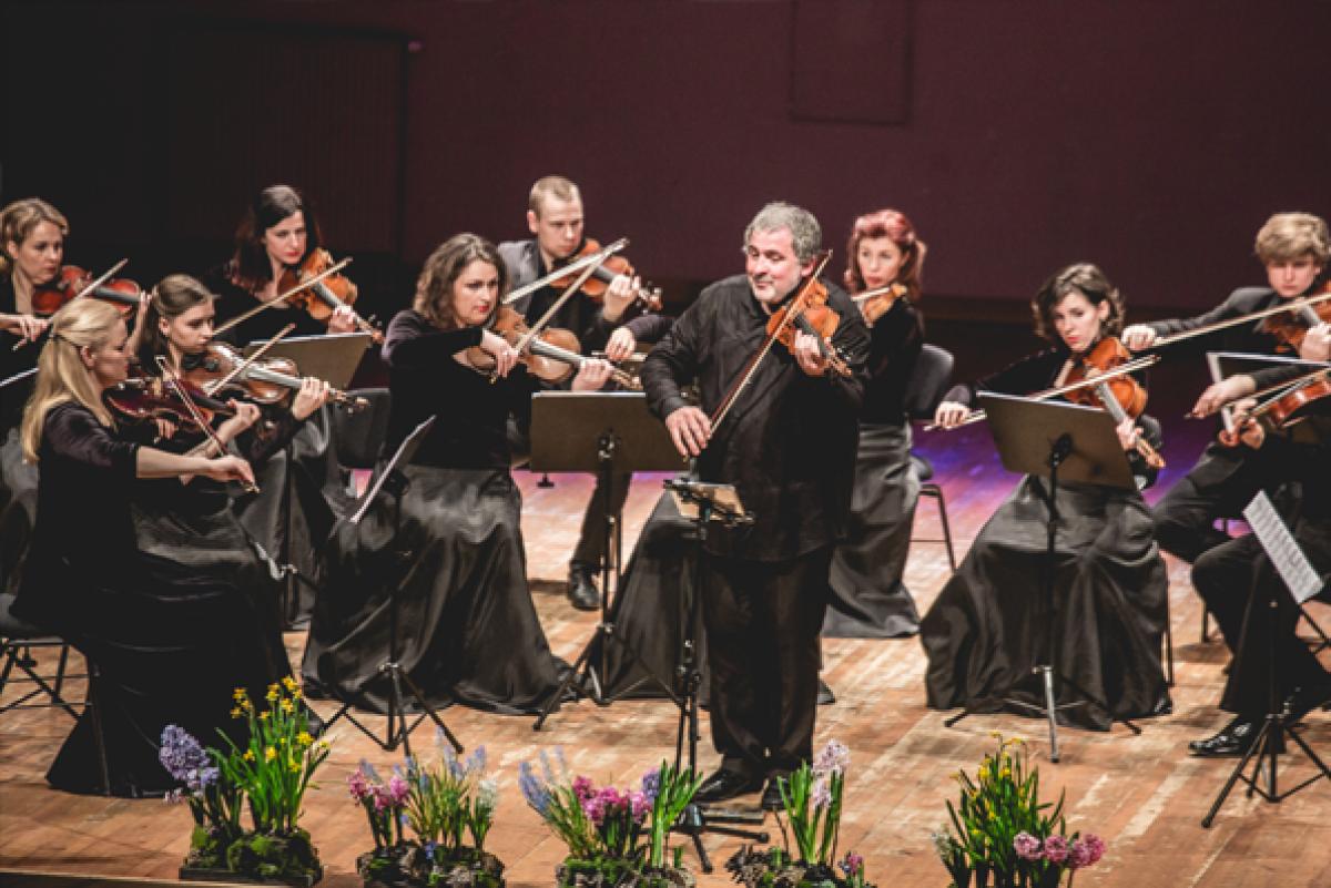 Smuiko maestro ir orkestras