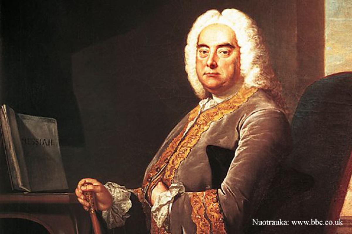 TRANSLIACIJA INTERNETU   Muzikinės Händelio kelionės