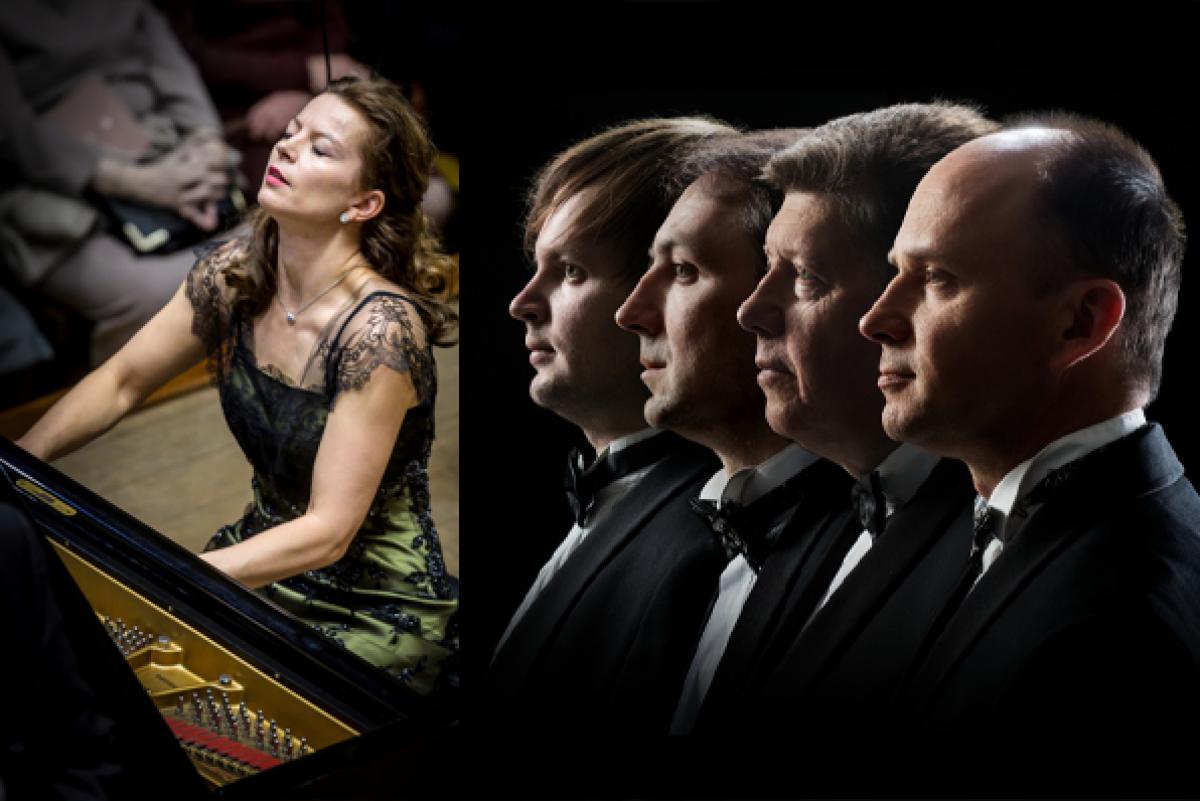 Renginio nuotrauka, Muzikinės kryžkelės | G. Gedvilaitė, M.K.Čiurlionio styginių kvartetas