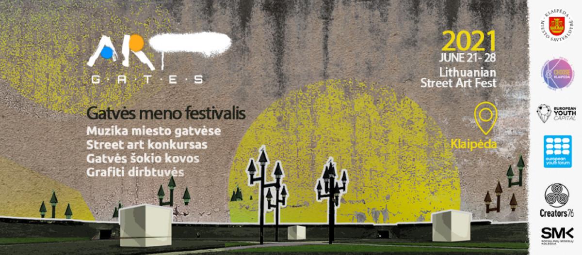 """Renginio nuotrauka, Gatvės meno festivalis """"ART GATES"""""""