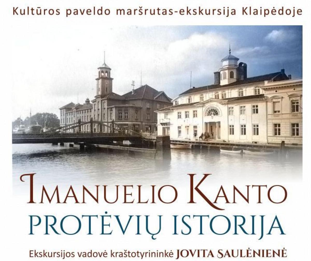 """Renginio nuotrauka, Kultūros paveldo maršrutas-ekskursija """"Imanuelio Kanto protėvių istorija"""""""