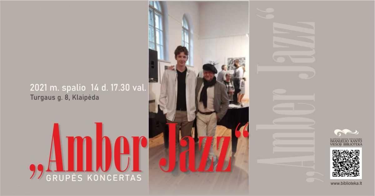 """Renginio nuotrauka, Grupės """"Amber Jazz"""" koncertas"""