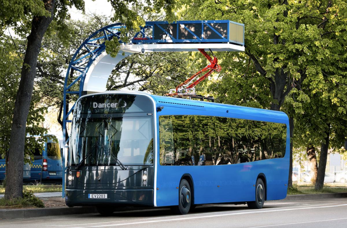 Klaipėdoje gaminamiems lietuviškiems elektriniaims autobusams numatoma didžiulė gamybos plėtra
