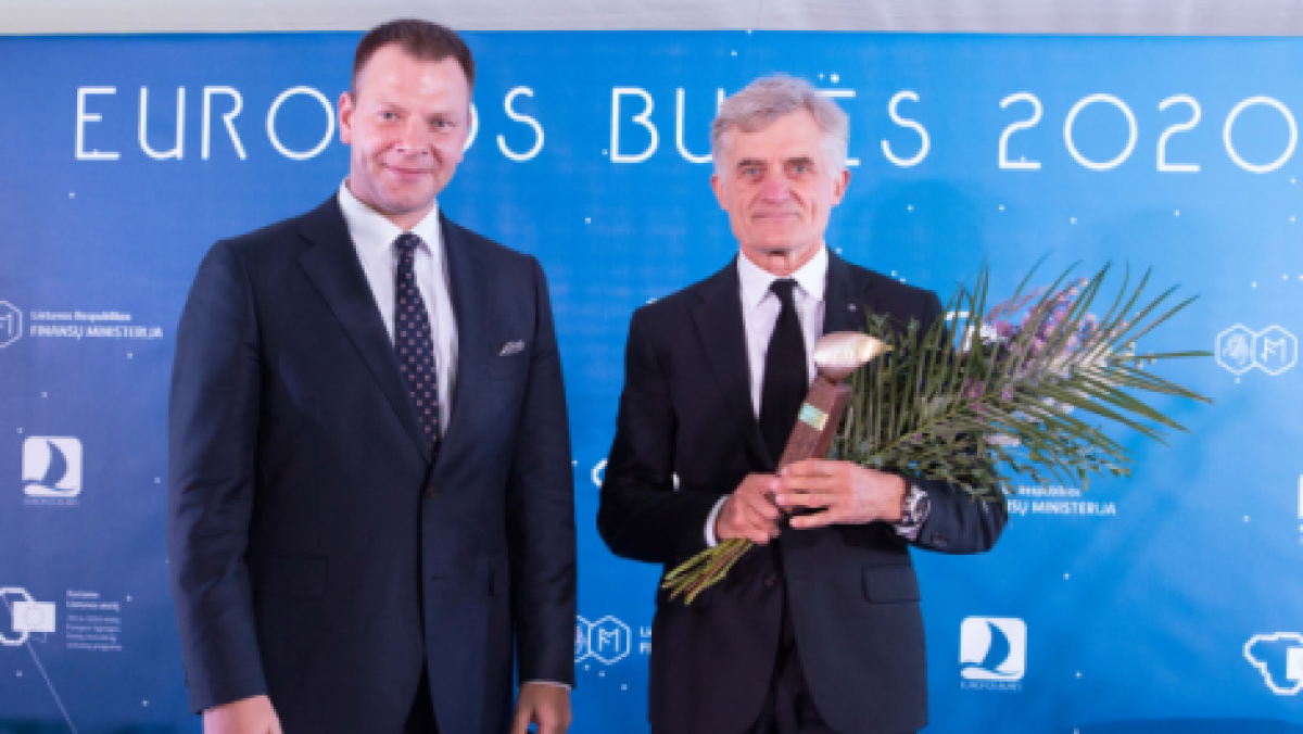 """""""Europos burių"""" apdovanojimas - Uosto direkcijai"""