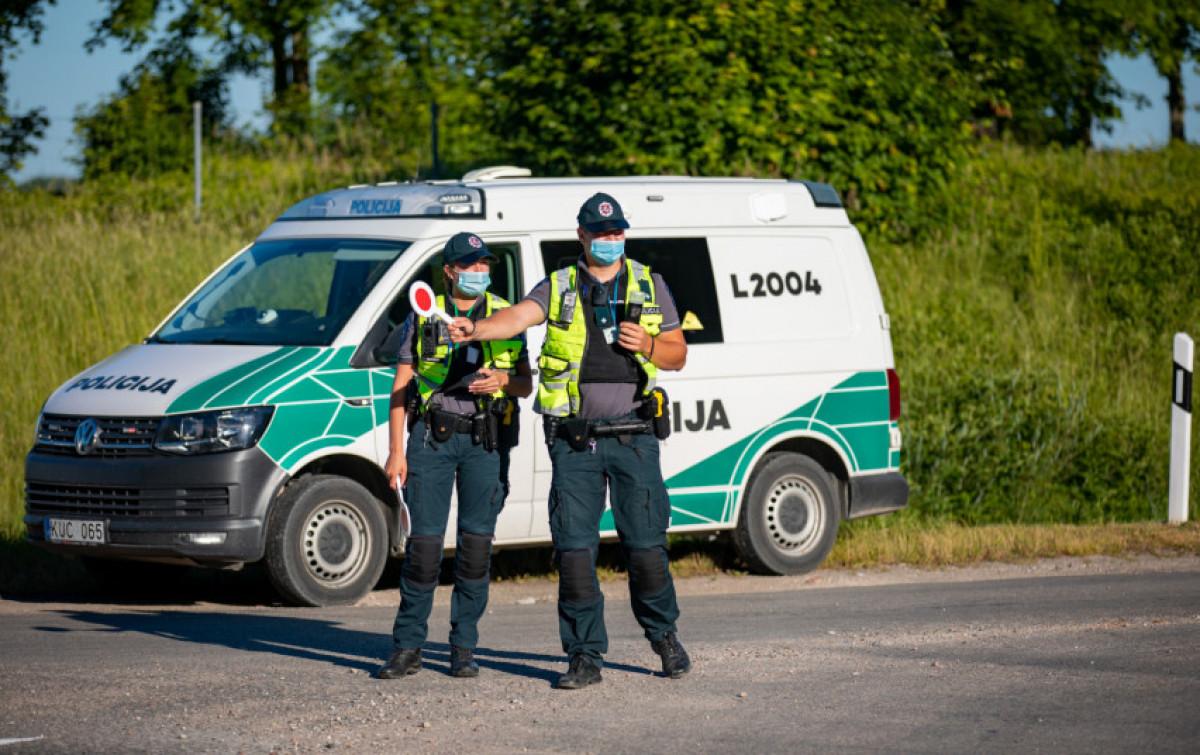 Rugsėjo mėnesį policija vykdys eilę patikrinimų: atskleidė, į ką kreips dėmesį