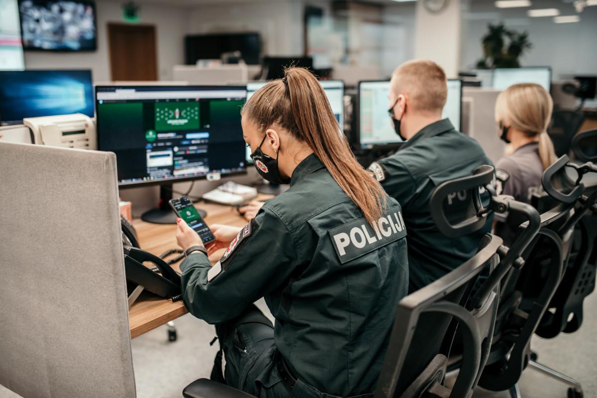 """Elektroninėje erdvėje pradeda """"patruliuoti"""" policijos virtualus patrulis"""