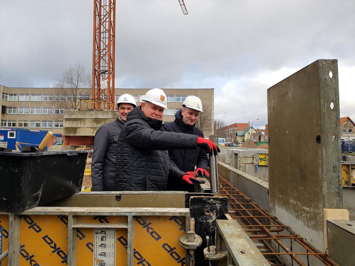 Klaipėda pradeda dar vienas daugiabučio statybas