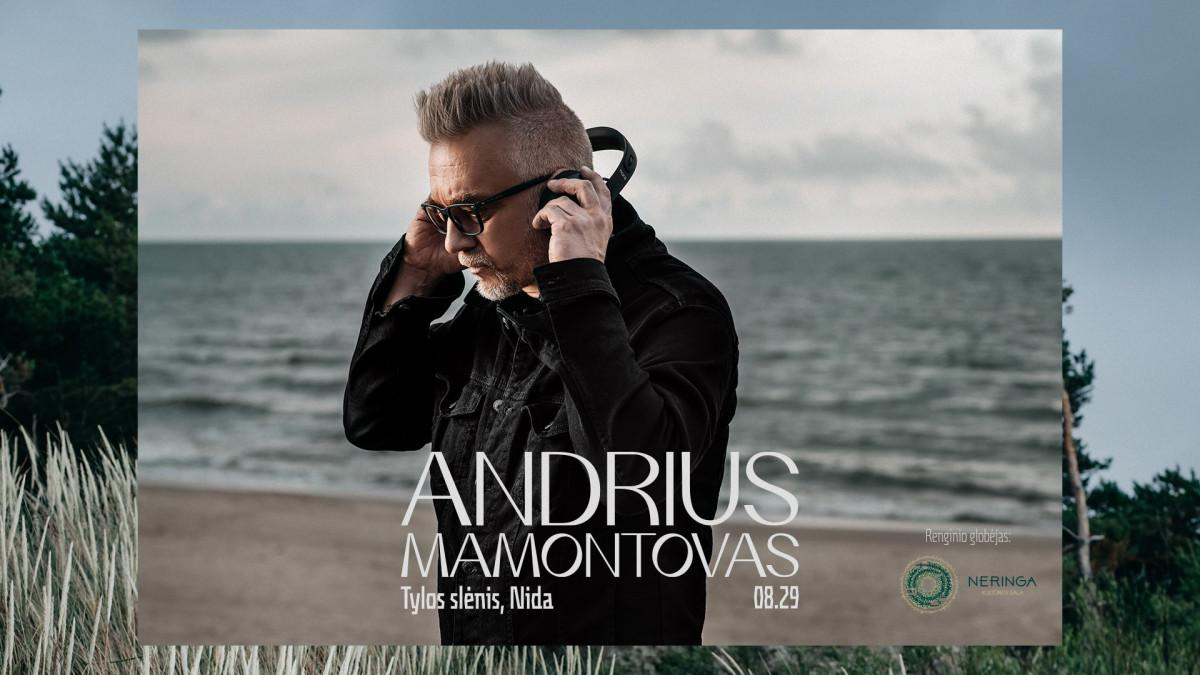 Pirmą kartą Lietuvoje: ypatingoje Nidos vietoje A.Mamontovas koncertuos tyloje