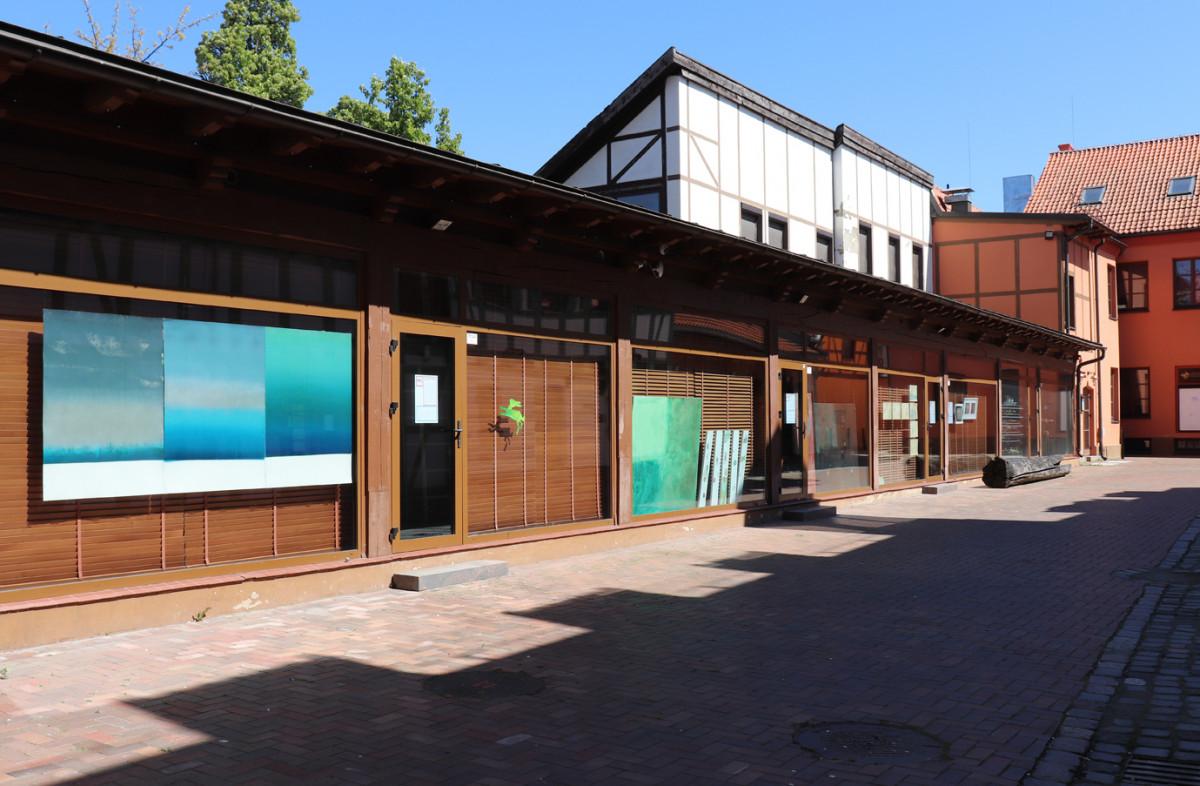 Meno kieme – KKKC meno rezidentų kūrinių ekspozicija