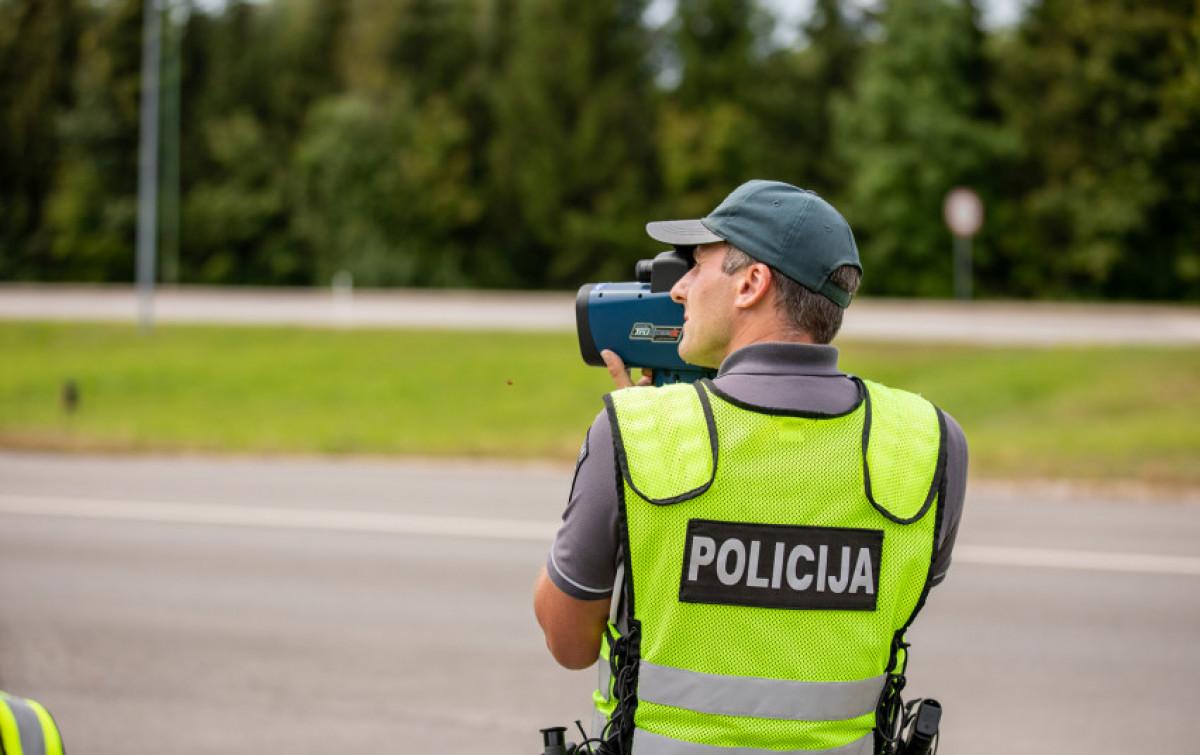 Per savaitę Klaipėdos apskr. Kelių policininkai užfiksavo net 425 pažeidimus