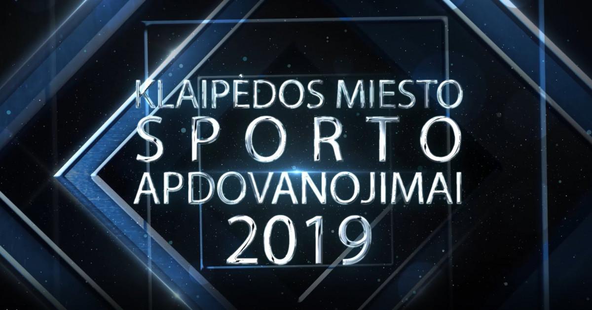 Jau rytoj stebėkite Klaipėdos miesto sporto apdovanojimus gyvai