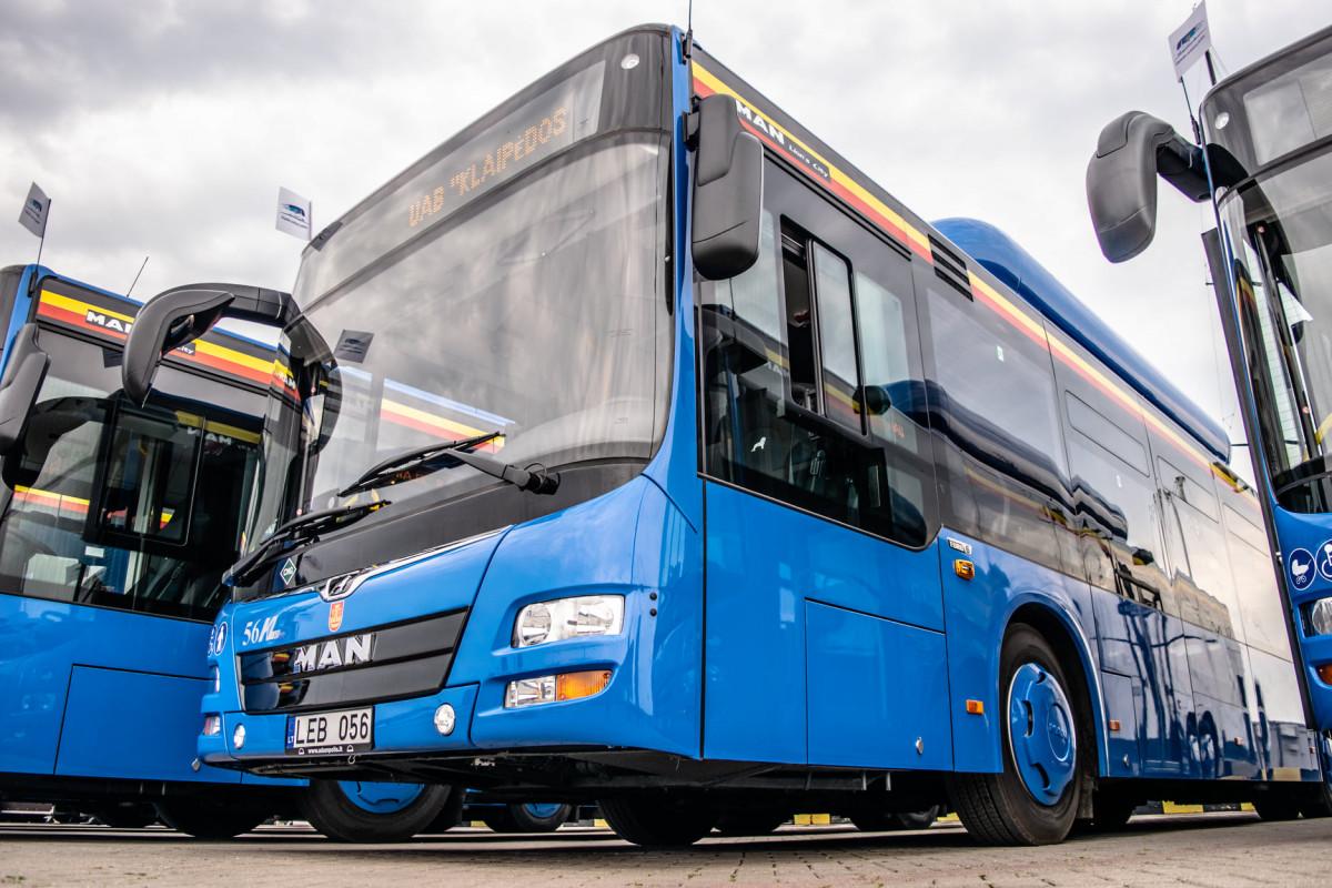 Klaipėdoje pridedami papildomi autobusų reisai, dažniau veš ir į pajūrį
