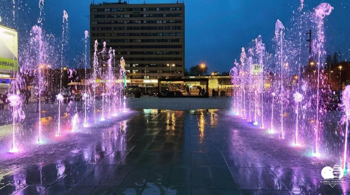 Motinos dienos išvakarėse Klaipėda pasipuoš veikiančiais fontanais