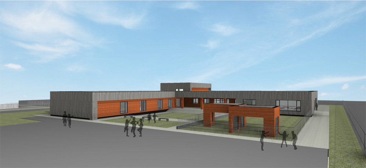 Klaipėdos rajone bus statoma nauja ir moderni mokykla