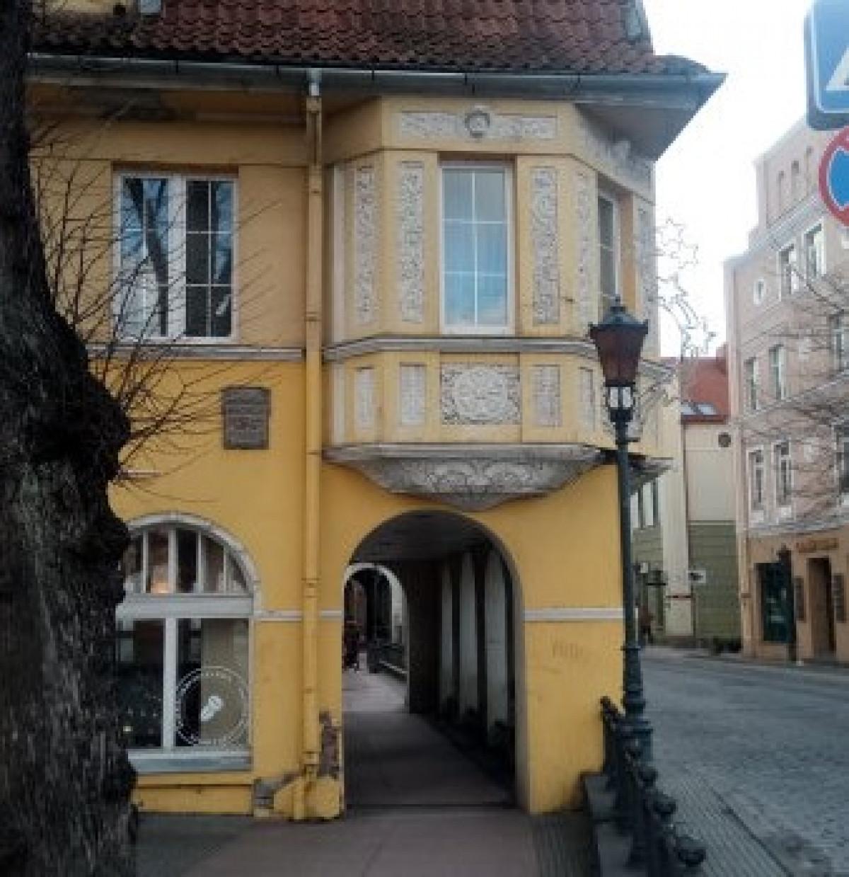 Klaipėdos senamiestyje atgims dar šeši pastatai