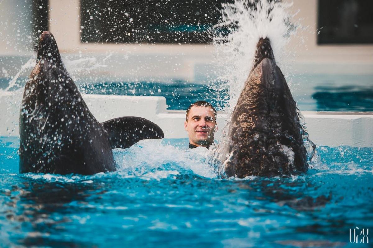 Naujiena: vidudienio transliacijos iš delfinariumo - virtualu, bet tikra