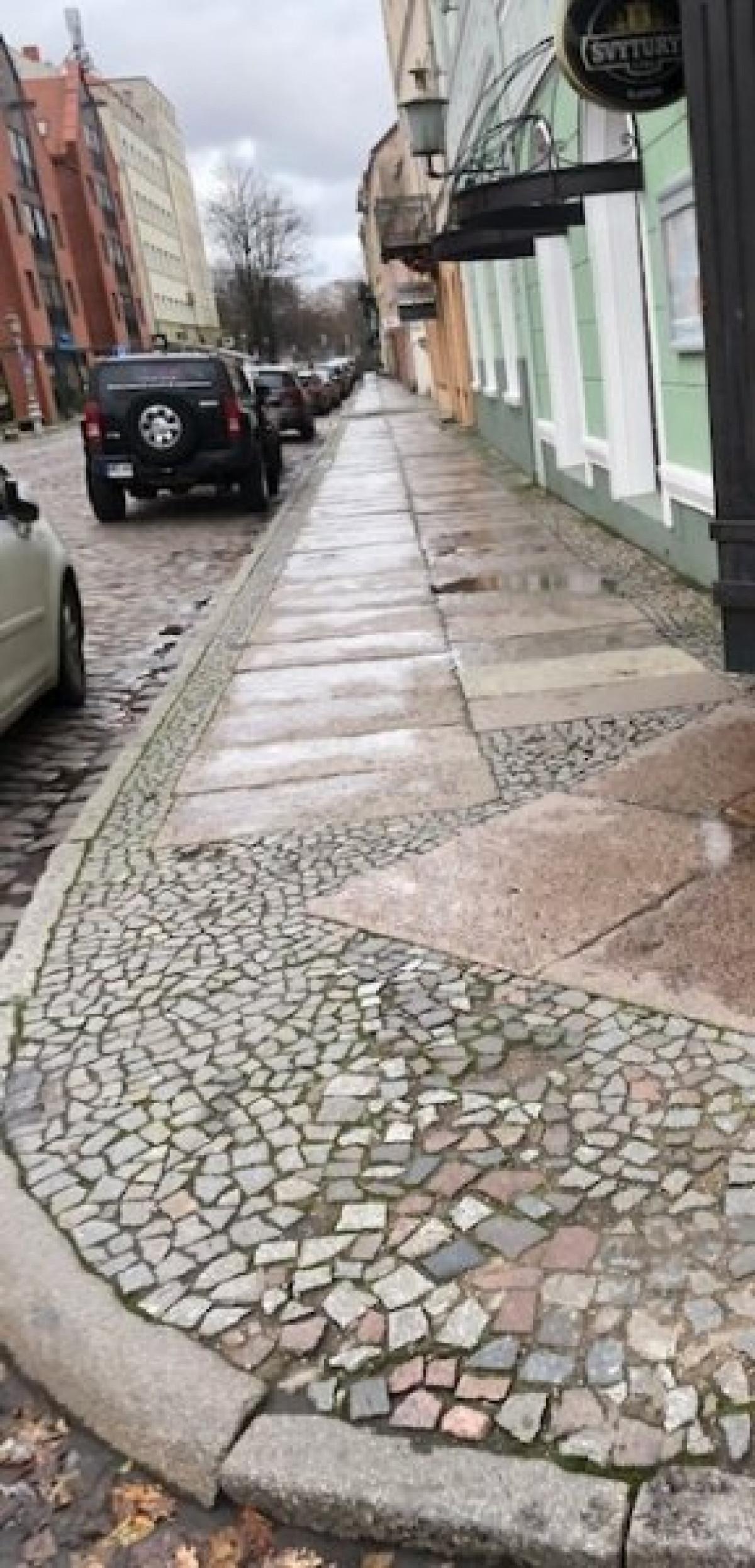 Startuos Žvejų gatvės atnaujinimo darbai