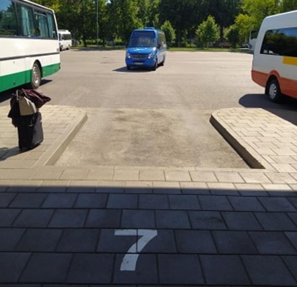 """Klaipėdos autobusų stotyje """"pradingo"""" veikiantis maršrutas"""