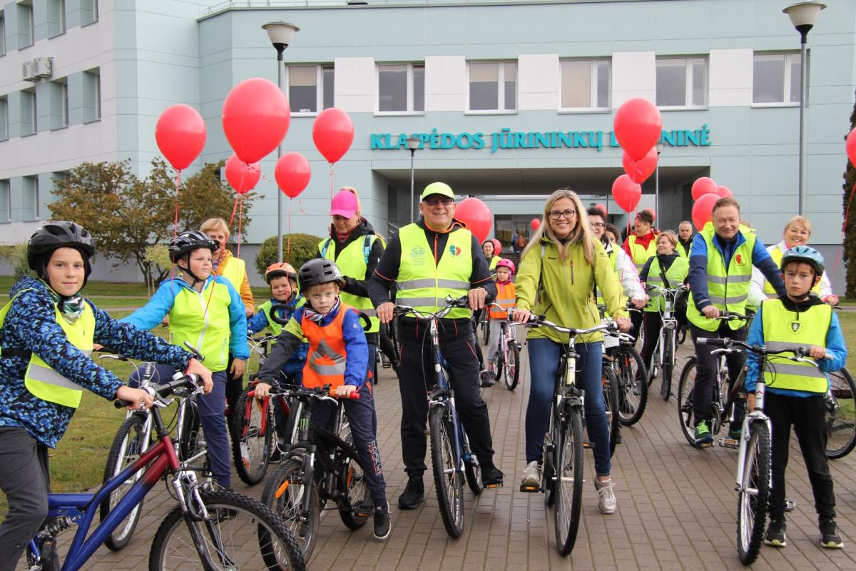 Pasaulinę širdies dieną tradiciškai Klaipėdoje vyks dviračių žygis