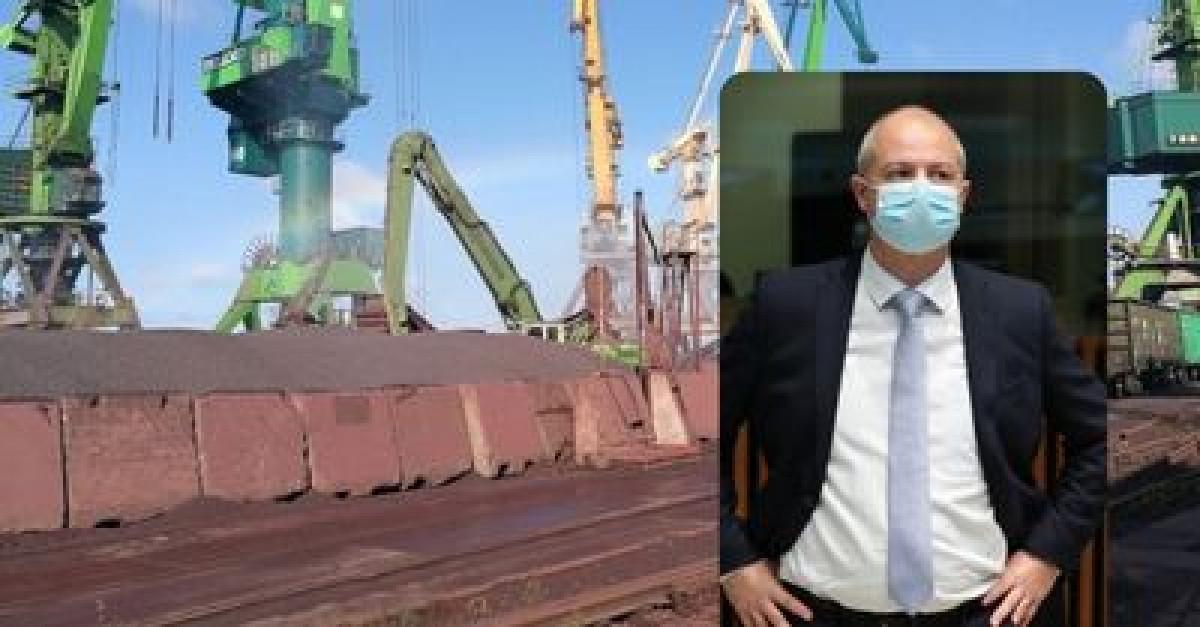 """Aplinkos ministras: """"Klasco"""" galės atnaujinti veiklą įrodžiusi, kad neišmeta į miestą geležies rūdos"""