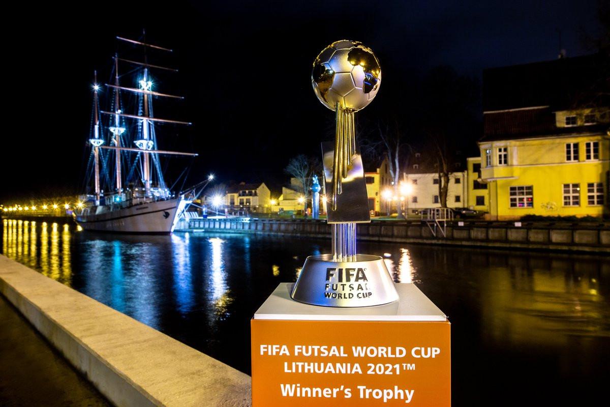 Šiandien Klaipėdoje startuoja FIFA Pasaulio salės futbolo čempionato FUTSAL 2021 etapas