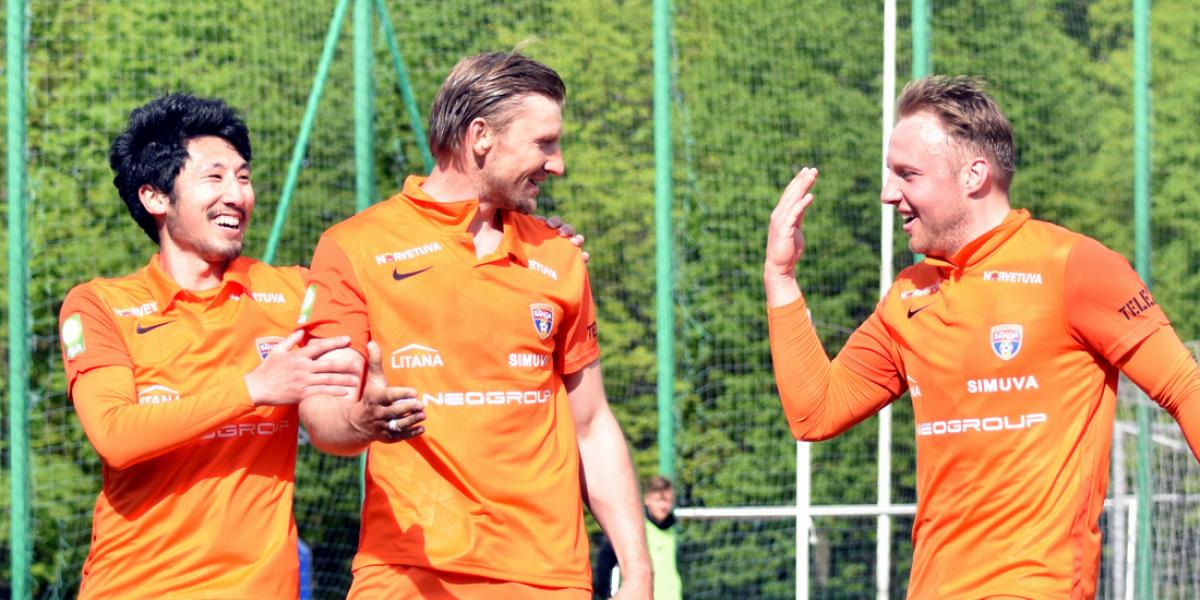 """FK """"Banga"""" pasiekė aukščiausią poziciją klubo istorijoje"""