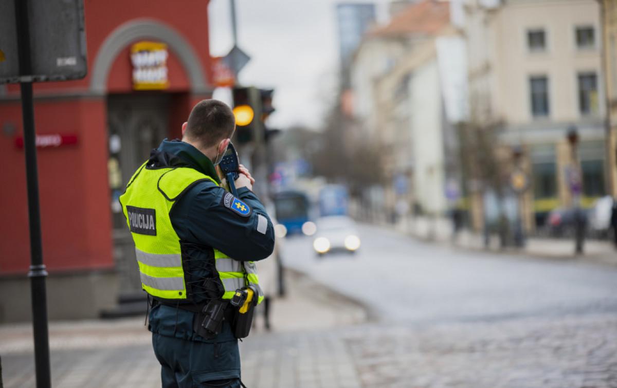 Klaipėdos policininkai šią savaitę sustiprino greičio viršijimo kontrolę