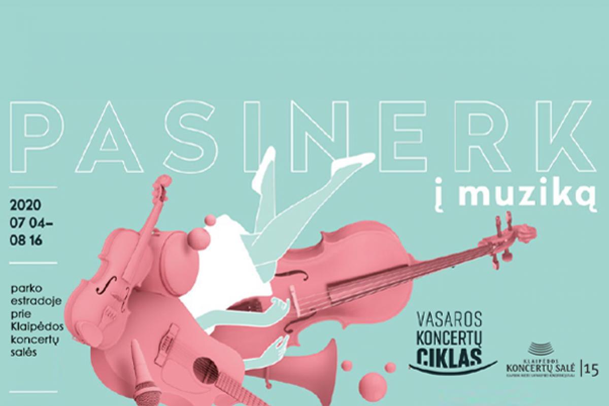 Klaipėdos koncertų salė pristato vasaros koncertų ciklą: pasinerk į muziką!