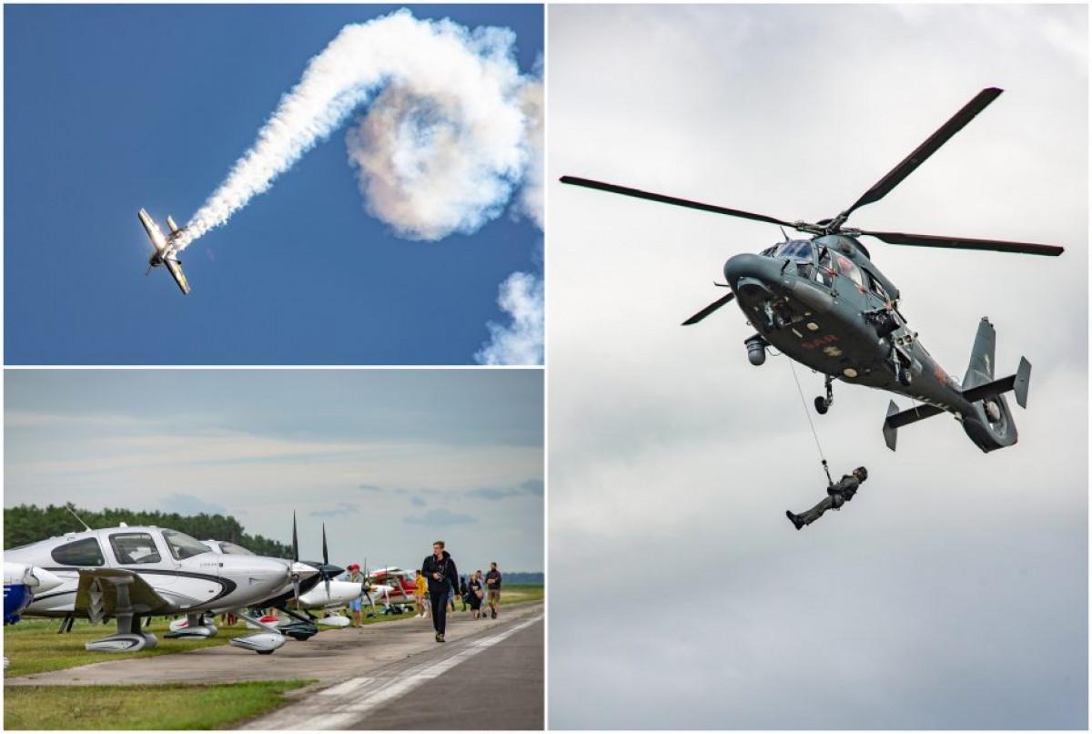 """Šeštadienį vyks didžiausias Nidos aerodromo metų renginys """"Nida Aero 2021"""""""