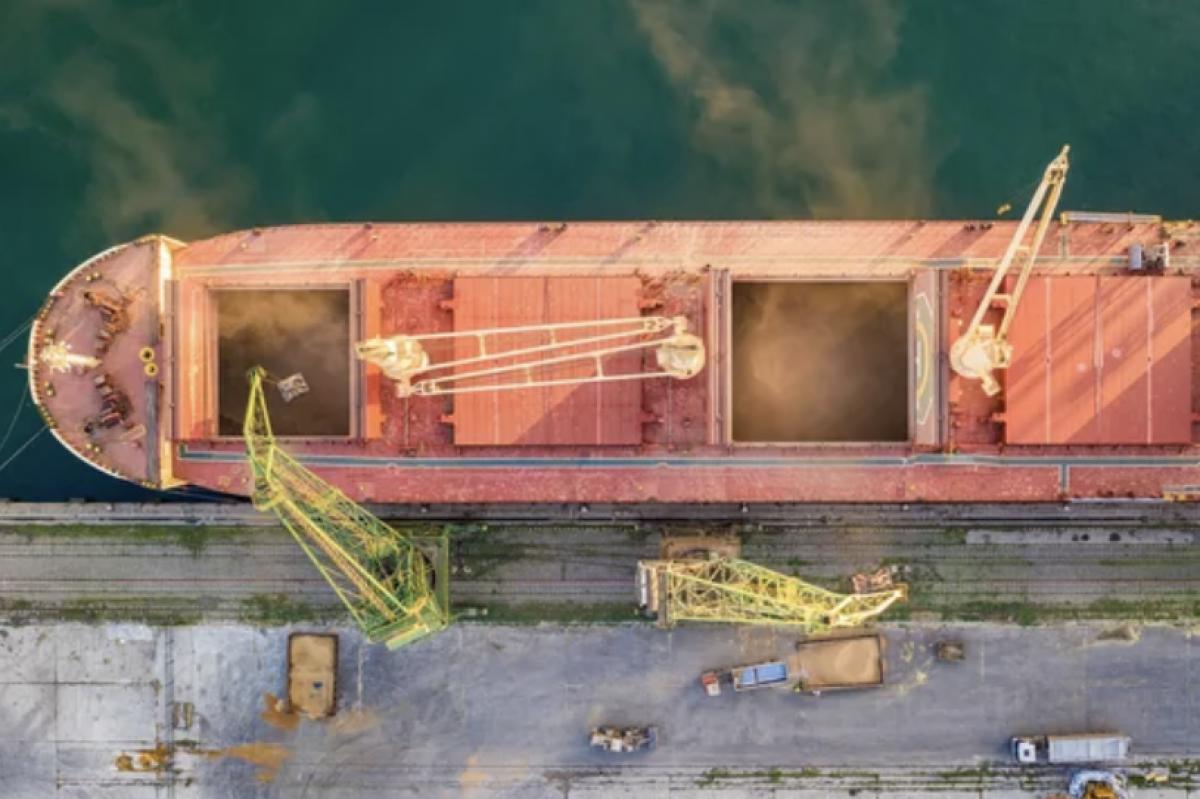 Šiųmetis Lietuvos grūdų augintojų derlius pradedamas eksportuoti per Klaipėdos uostą