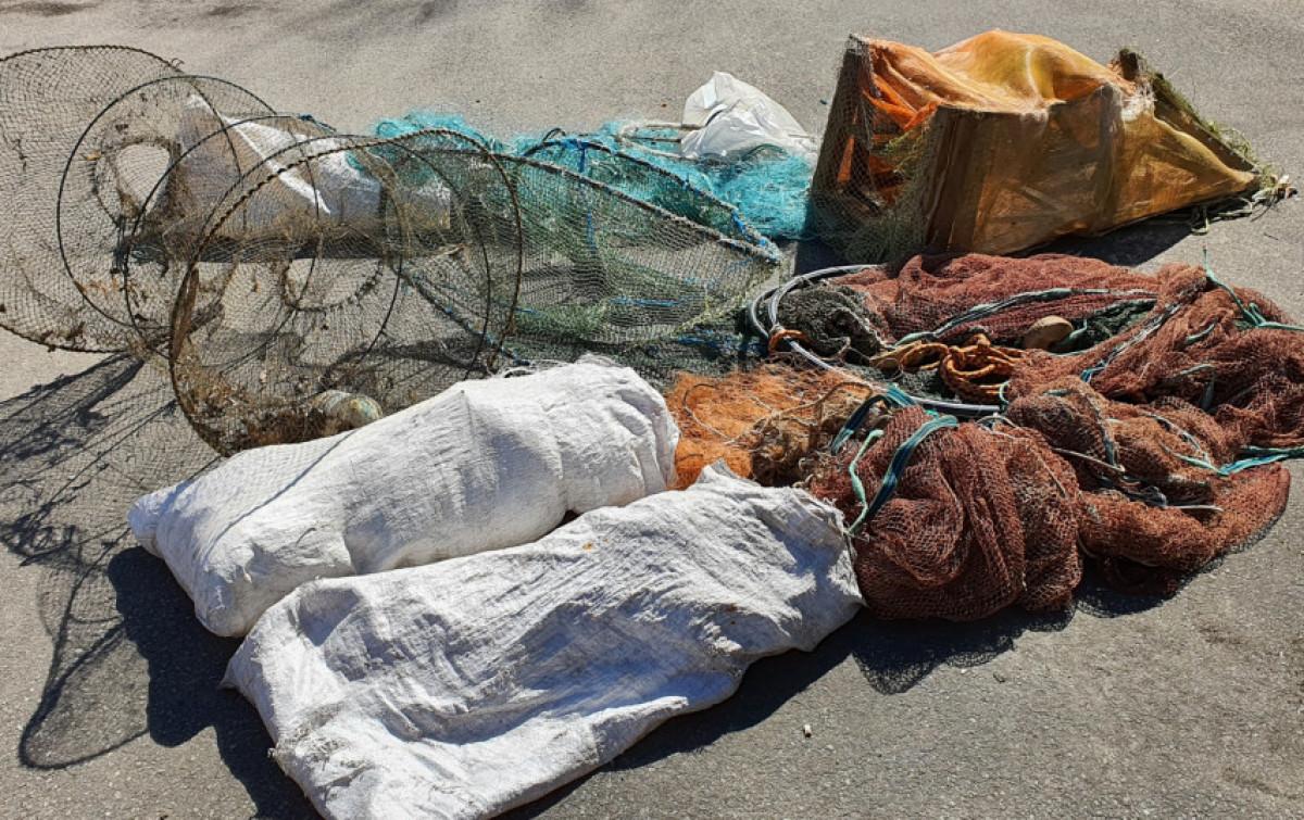 Klaipėdos aplinkosaugininkai rado 16 draudžiamų žvejybos įrankių