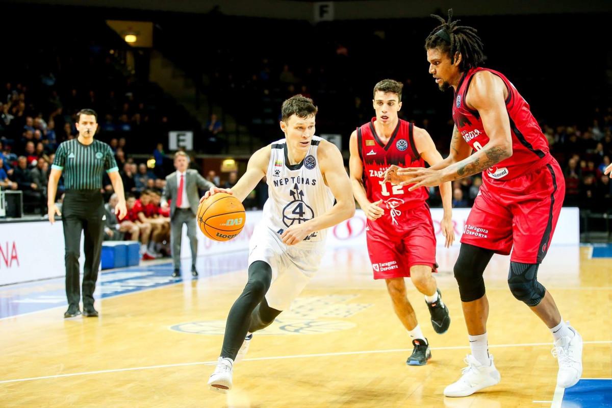 """""""Neptūnas"""" ruošiasi svarbiam FIBA Čempionų lygos mūšiui Saragosoje"""