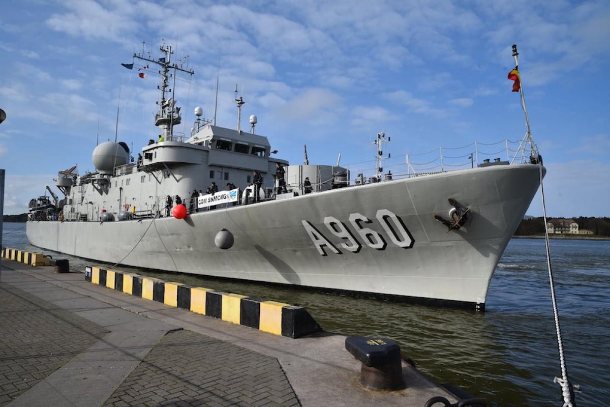 į Klaipėdą atvyko penki NATO priešmininiai laivai