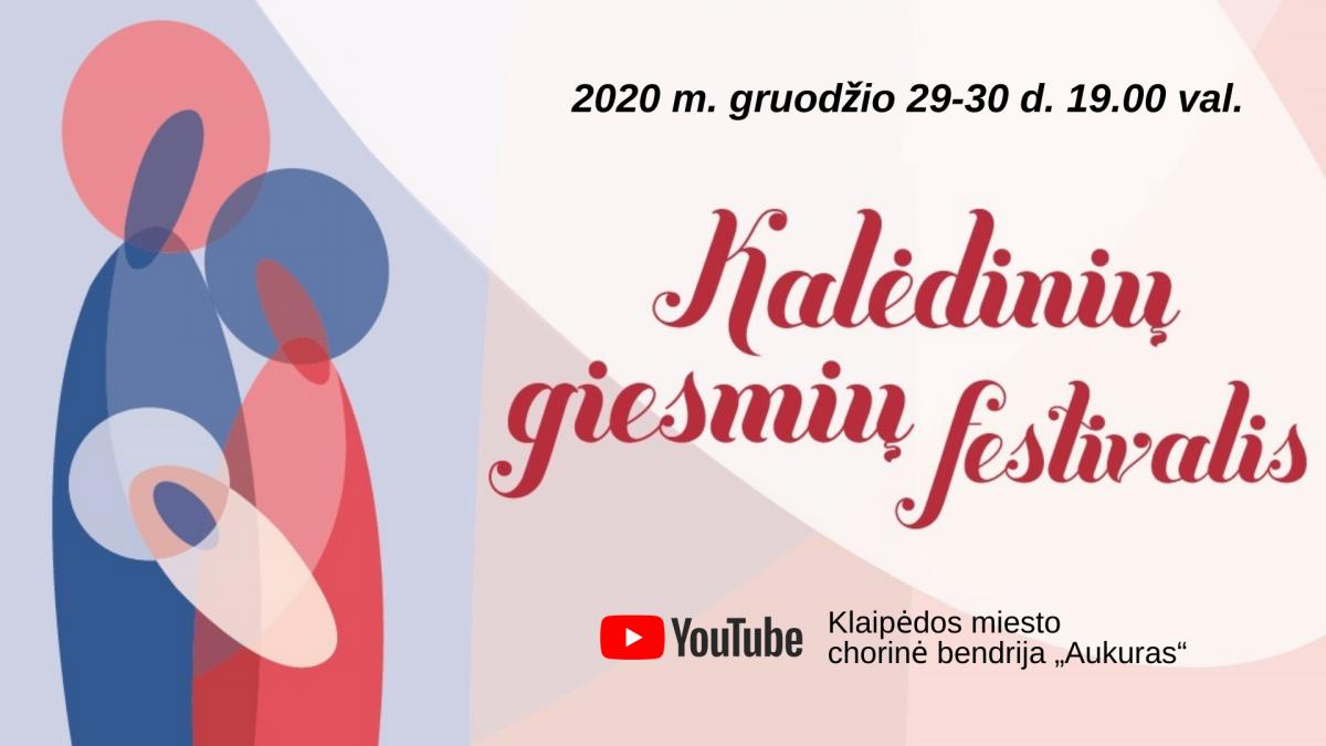 """Klaipėdos miesto chorinė bendrija """"Aukuras"""" : Kalėdinė giesmė nenutils ir šiemet!"""