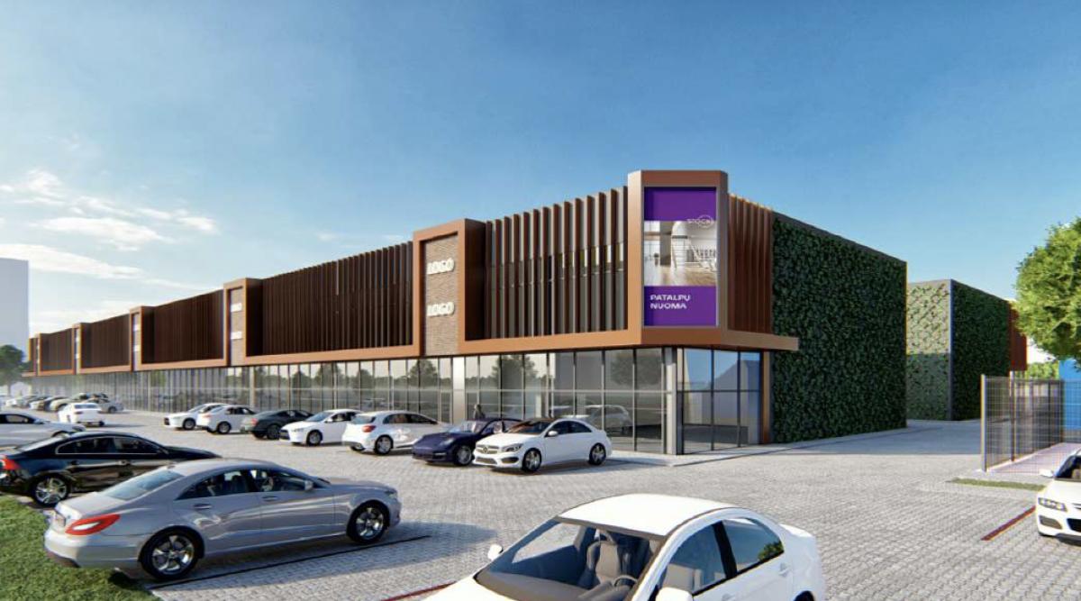 Klaipėdos Baltijos prospekte statys naują atskirų savarankiškų parduotuvių kompleksą