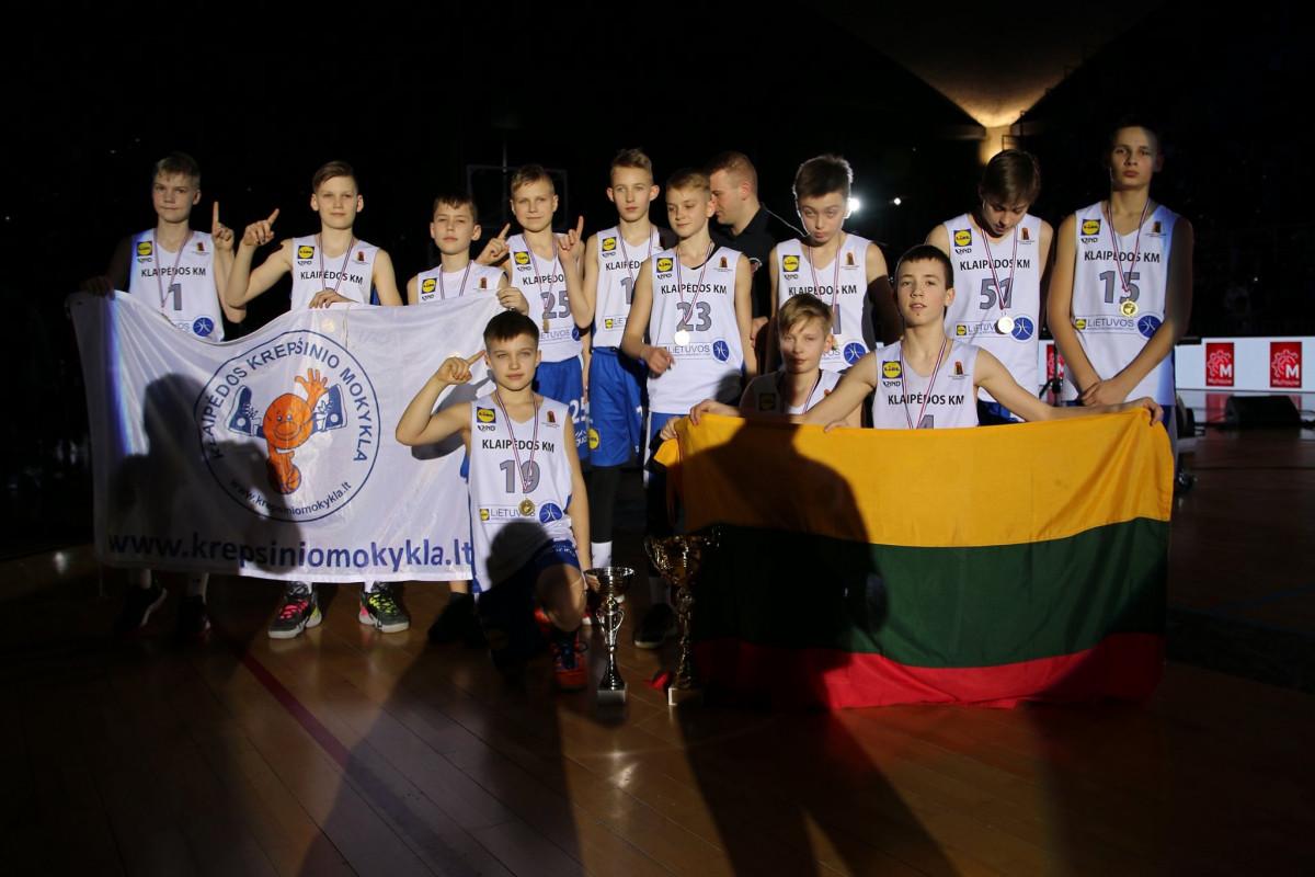 Tarptautiniame krepšinio turnyre Prancūzijoje klaipėdiečiai tapo čempionais