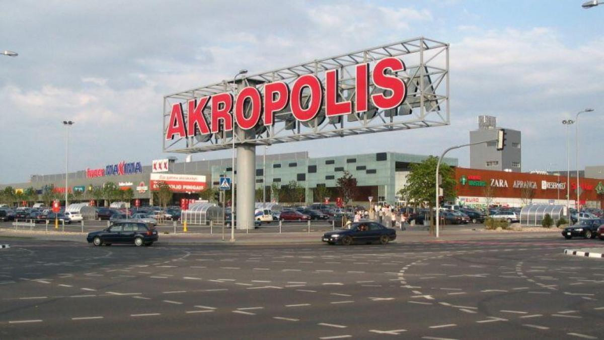 """""""Akropolis"""" pristato naujovę, kuri padės apsipirkti saugiau"""