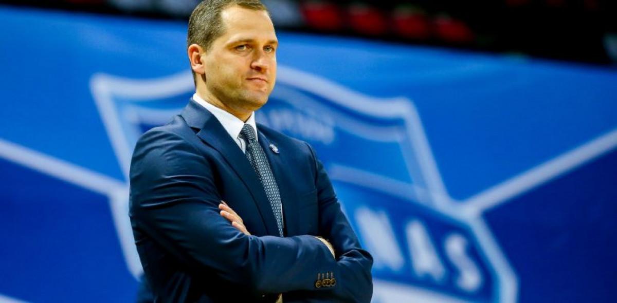 """Ketvirtfinalį pasitinkantis Tomas Gaidamavičius: """"Tikiuosi pademonstruosime ne tik gerą žaidimą, bet ir duosime gerą kovą Panevėžio komandai"""""""