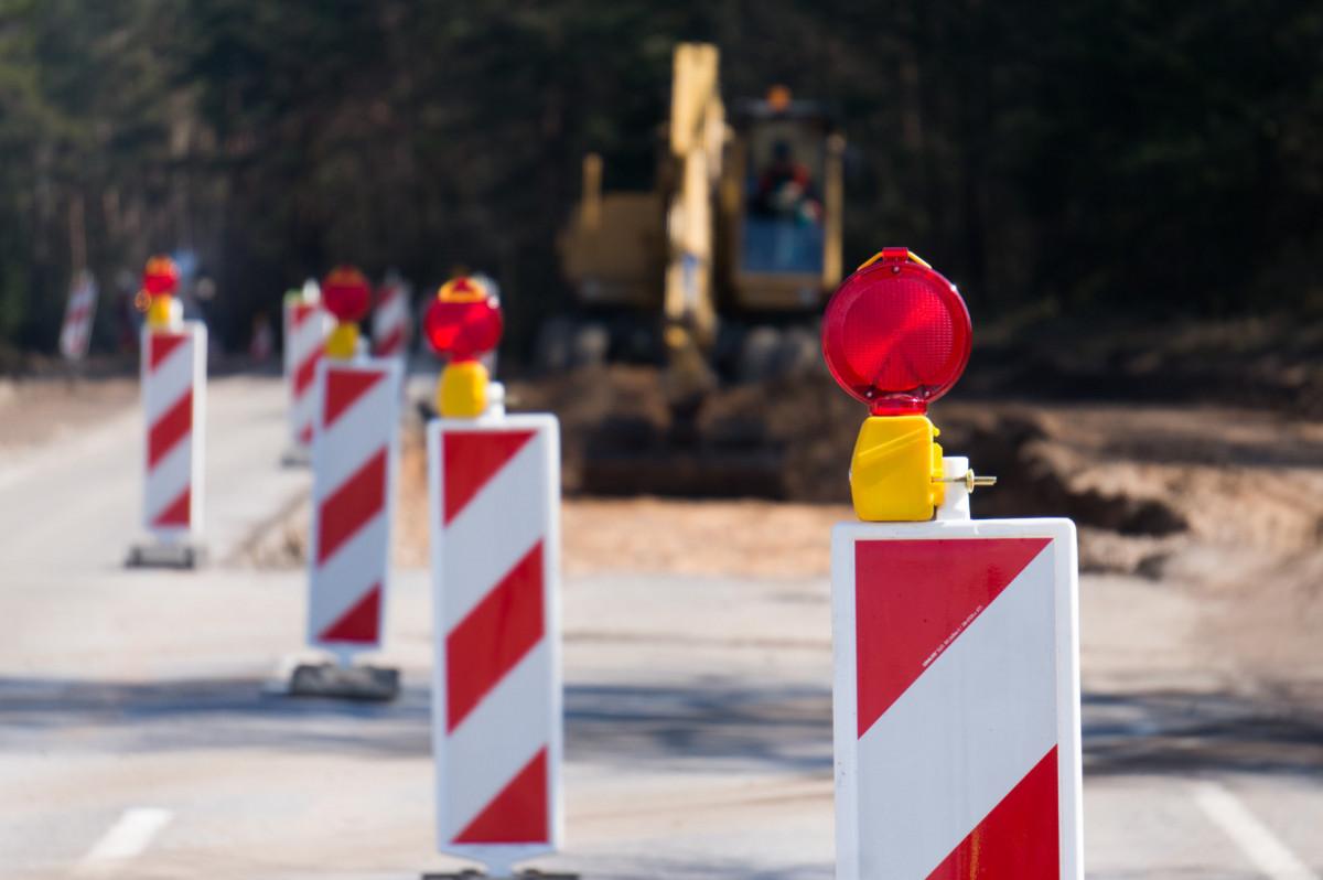 Vienoje Klaipėdos gatvės atkarpoje laikinai ribos eismą