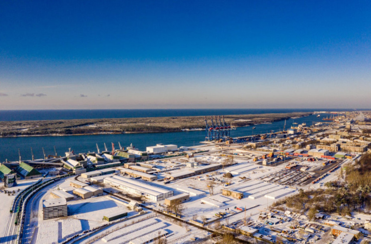 Pietinės uosto dalies plėtros projektinius pasiūlymus rengs amerikiečiai