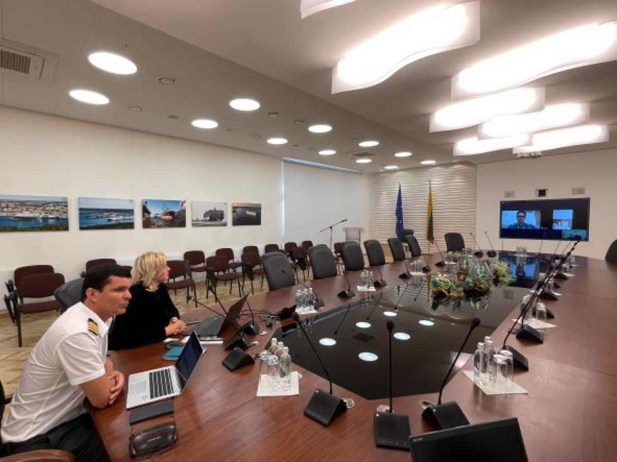 Moksleiviams apie Klaipėdos uostą: nuo valdymo modelio iki laivybos
